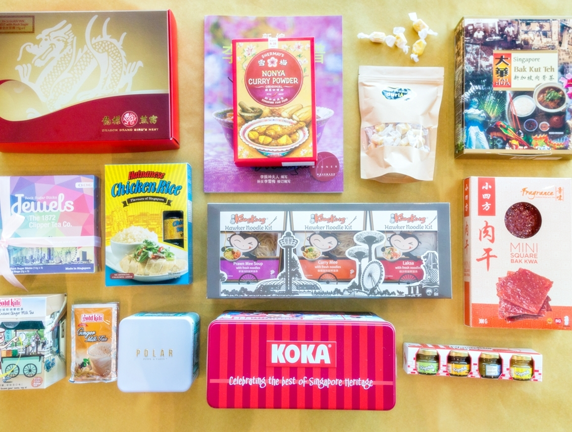 Singapore Food Gifts Unique Traditional Food Gifts